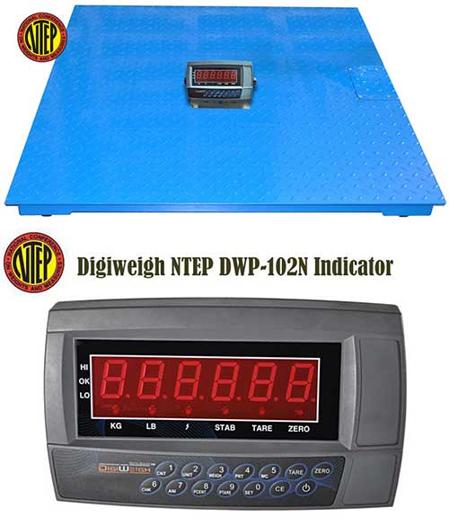 Floor Scale Industrial Heavy Duty Pallet Scales